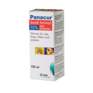Intervet Panacur Cat & Dog Wormer Oral Suspension