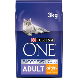 Purina ONE Adult Dry Cat Food Chicken & Wholegrains 3kg