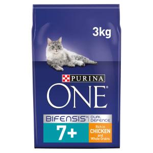 Purina ONE Senior 7+ Wet Cat Food - Chicken & Whole Grains