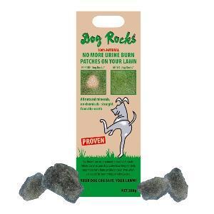 Dog Rocks Lawn Protection