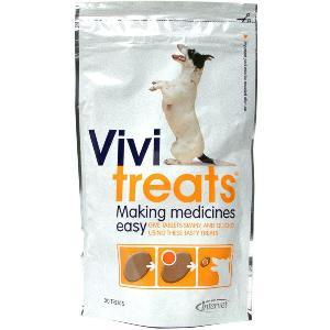 Vivitreats Making Medicines Easy Dog Treats