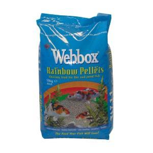 Webbox Rainbow Mixed Pond Pellets