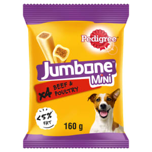 Pedigree Jumbones Small Dog Treats - Beef & Poultry