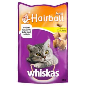Whiskas Anti Hairball Cat Treats with Chicken