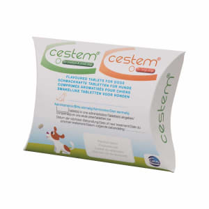 Cestem Flavoured Small and Medium Dog Worming Tablets