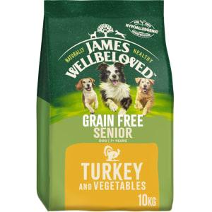 James Wellbeloved Grain Free Medium Senior Dry Dog Food - Turkey & Vegetables