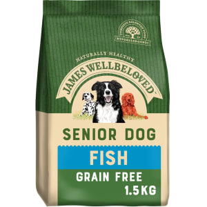 James Wellbeloved Dog Senior Fish and Vegetable Grain Free