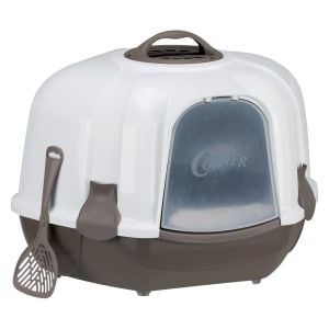 Trixie Maro Corner Litter Tray with Hood