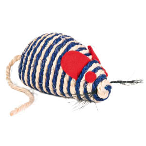 Trixie Sisal Mouse with Catnip