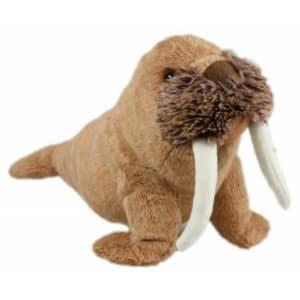 Animal Instincts Winston the Walrus Plush Dog Toy