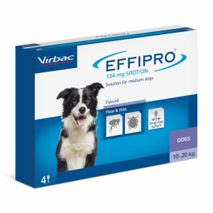 Effipro Spot-On Flea & Tick Treatment for Medium Dogs (10-20kg)