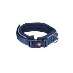 Trixie Premium Padded Dog Collar in Indigo