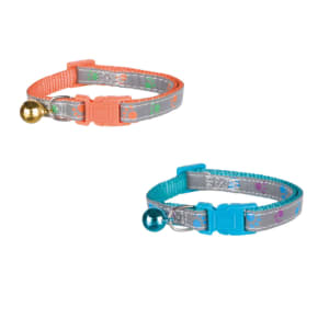 Trixie Reflective Cat Collar with Print