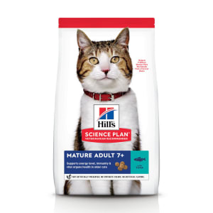 Hill's Science Plan Mature Adult 7+ Dry Cat Food Tuna