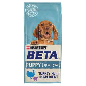 BETA Puppy Dry Dog Food with Turkey & Lamb 2kg