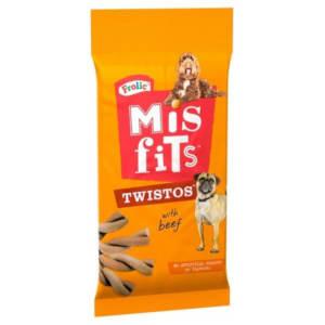 Misfits Twistos Dog Treats - Beef