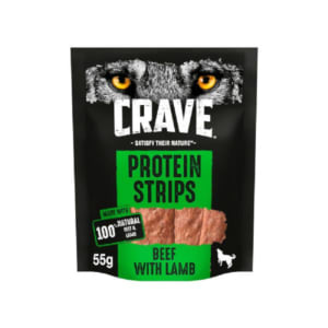 Crave Beef & Lamb Protein Strips Dog