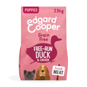 Edgard & Copper Grain Free Free-Run Duck & Chicken Dry Dog Food Puppy