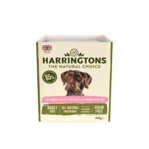 Harringtons Salmon & Potato with Vegtables Wet Dog Food
