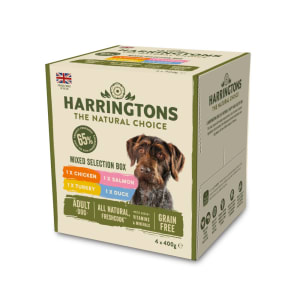 Harringtons Mixed Selection Box Wet Dog Food
