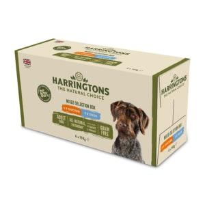 Harringtons Grain Free Mixed Selection Box Wet Dog Food