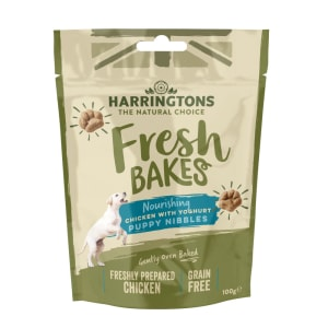 Harringtons Fresh Bakes Chicken with Yogurt, Puppy Nibbles