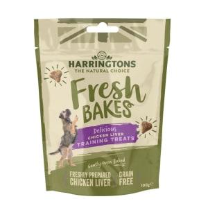 Harringtons Fresh Bakes Dog Training Treats - Chicken Liver
