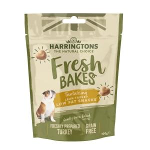 Harringtons Fresh Bakes Low Fat Snacks Dog Treats - Turkey