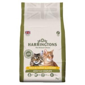Harringtons Turkey & Chicken Complete Adult Dry Cat Food