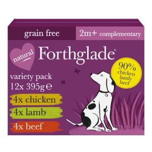 Forthglade Just Variety Case Wet Dog Food