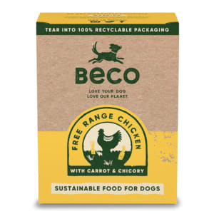 Beco Eco-Conscious Food Free Range Chicken Wet Food for Dogs