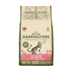 Harringtons Adult Cat Food Rich in Salmon 2kg