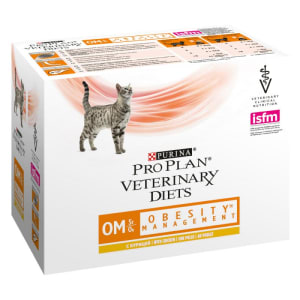 Purina Pro Plan Veterinary Diets Feline OM Obesity Management Wet Cat Food Chicken