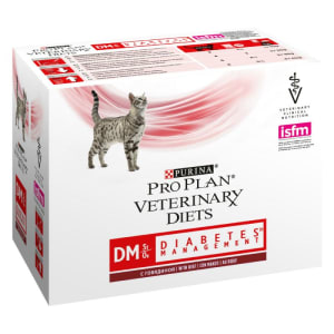 Purina Pro Plan Veterinary Diets Feline DM Diabetes Management Wet Cat Food Beef