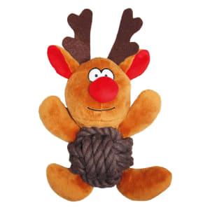 Christmas Reindeer Knottie Dog Toy