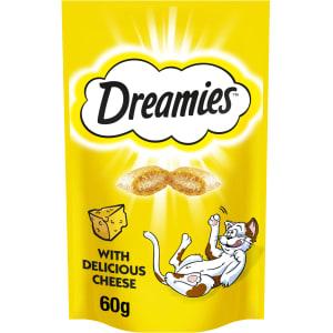 Dreamies Adult & Kitten Cat Treats - Cheese