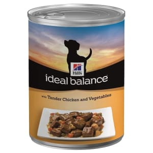 Hill's Ideal Balance Adult Wet Dog Food - Chicken & Vegetables