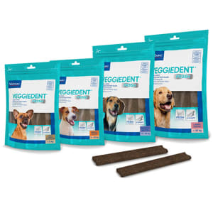 Virbac Veggiedent Snacks Dog Treats - Very Small Dog
