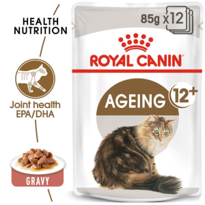 Royal Canin Ageing 12+ Senior Wet Cat Food in Gravy