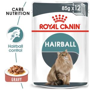 Royal Canin Intense Hairball 34 Adult Wet Cat Food - Gravy