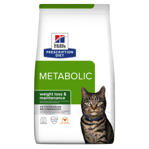 Hill's Prescription Diet Metabolic Weight Management Adult Dry Cat Food - Chicken
