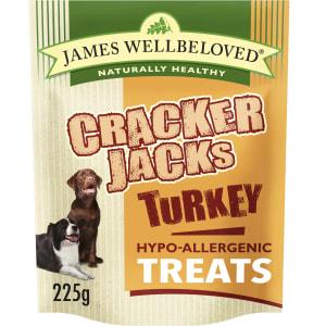 James Wellbeloved CrackerJacks Hypo-Allergenic Dog Treats - Turkey
