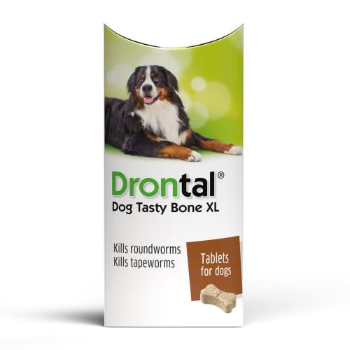 Drontal Dog Tasty Bone Xl Worming Pet Supermarket Co Uk