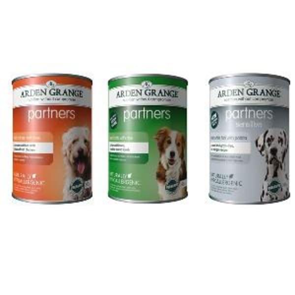 Arden Grange Grain Free Partners Adult Wet Dog Food - Fresh Ocean White Fish & Potato
