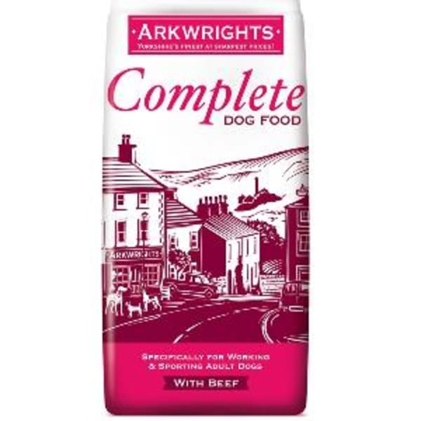Arkwrights Complete Adult Dry Dog Food - Beef