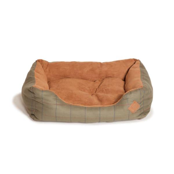 Danish Design Hunter Tweed Snuggle Dog Bed