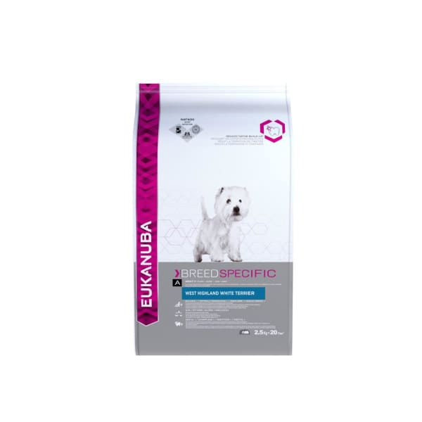 Eukanuba Breed Specific West Highland White Terrier Adult Dry Dog Food
