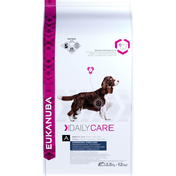 Eukanuba Daily Care Overweight Sterilized Adult Dry Dog Food