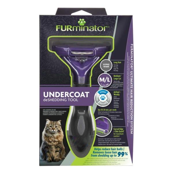 Furminator Kitten & Puppy Long Hair Deshedding Tool