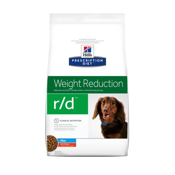 Hill's Prescription Diet Weight Reduction r/d Mini Breed Dry Dog Food - Chicken